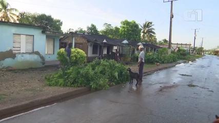 Hurricane Ida wreaked havoc in Cuba
