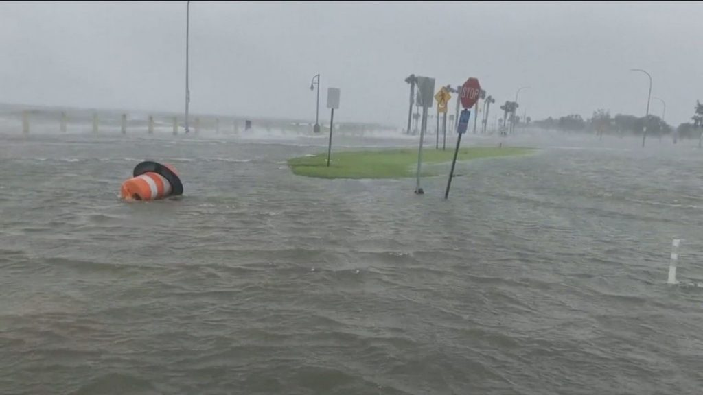 Hurricane Ida hits US coast around the world