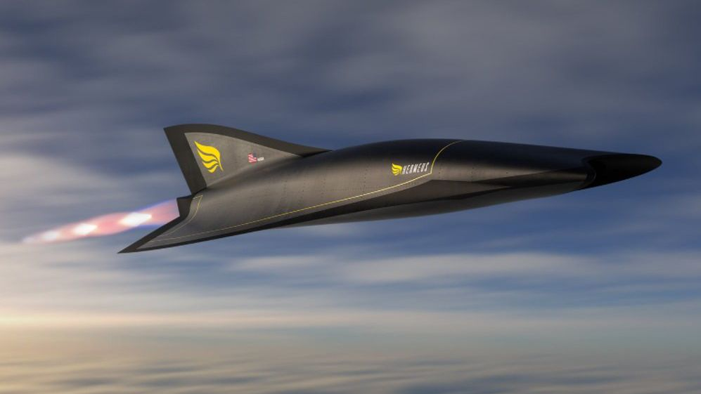 A hypersonic jet from the United States to New York-London within 1 hour
