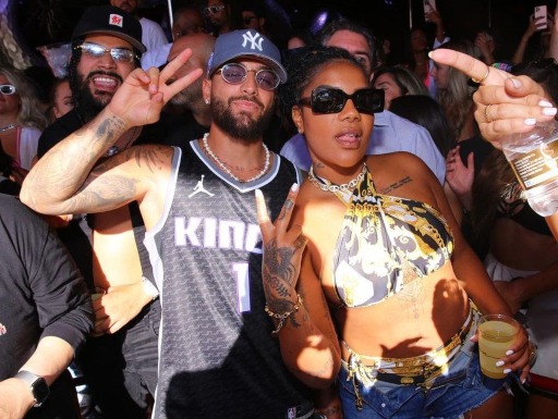 Ludmilla enjoys the Chainsmokers show with Maluma in the United States