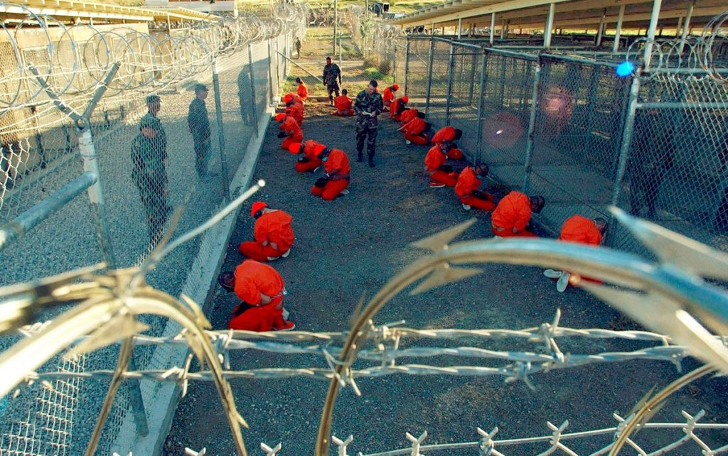 """In Guantanamo Bay, the United States is still holding dozens under the pretext of the """"war on terror"""" 
