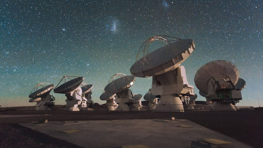 """ALMA is now able to observe the """"childhood"""" of the universe"""