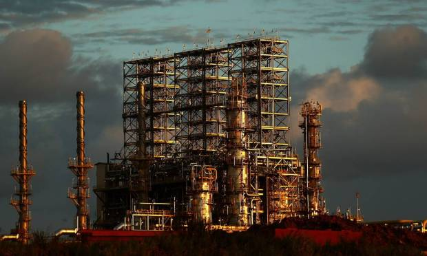 The Abreu e Lima Refinery (RNEST) began operations in 2014. It is located in the industrial complex of the Suape port, 45 km from Recife, in Pernambuco.  Photo: Wilton Jr. / Agência O Globo