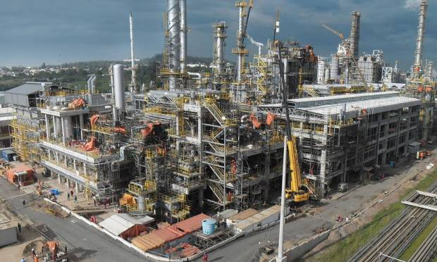 The Alberto Pasqualini Refinery (Refap) was built on an area of 580 hectares in the municipality of Canoas (RS) in Rio Grande do Sul.  Photo: Disclosure
