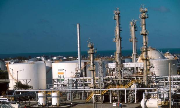 The Northeastern Oil and Derivatives Refinery (Lubnor), in Ceará, is one of the leading producers of asphalt in Brazil, as it is responsible for about 10% of the product production in the country.  Photo: Disclosure