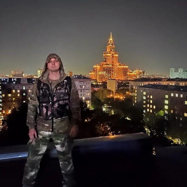 Russian influencer Dima Vert (Image: Instagram clone)