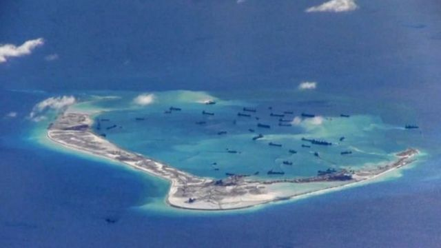 Pictures reveal that China is increasing its military presence in the South China Sea