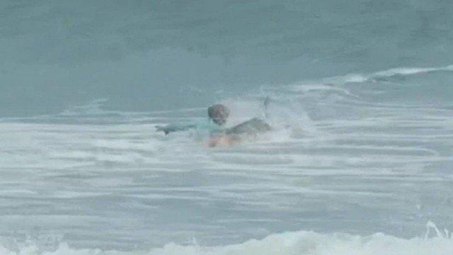 Video: Shark attacks teen surfer in Florida
