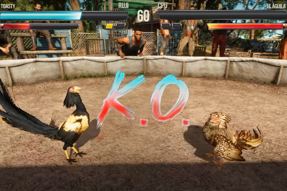 Far Cry 6: PETA wants to ban cockfighting in the game