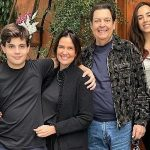 Who is Faustau's brother-in-law?  Julinho Casares is the presenter of RecordTV